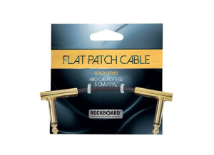 Rockboard Gold Flat Patch Cable