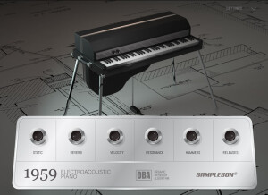 Sampleson 1959 Electroacoustic Piano