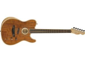 Fender American Acoustasonic Telecaster Koa