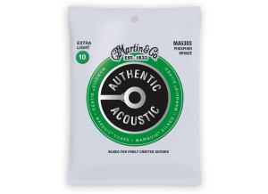 Martin & Co Authentic Acoustic 92/8 Phosphor Bronze Marquis Silked Strings