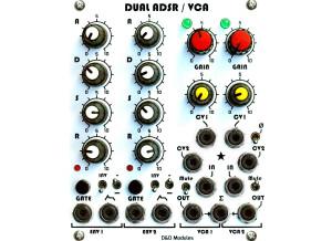 D&D Modules Dual ADSR / VCA