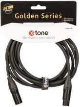 X-Tone Golden XLR Cable X3001