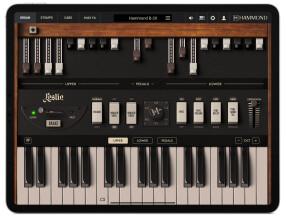 IK Multimedia Hammond B-3X for iPad