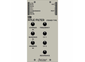 Tangible Waves NYLE FILTER (Steiner type)