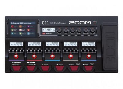 Cinq nouveaux effets pour le G11 de Zoom !