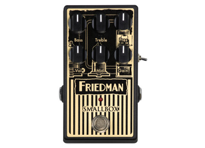 La Smallbox Pedal est disponible chez Friedman !