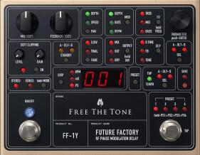 Free The Tone FUTURE FACTORY FF-1Y RF PHASE MODULATION DELAY