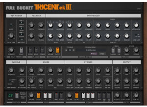 Full Bucket Music Tricent mkIII