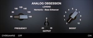 Analog Obsession Lovend