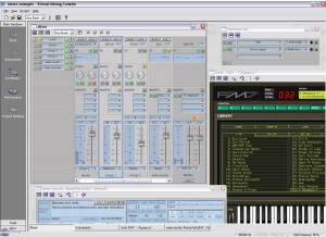 Spin Audio Virtual Mixing Console