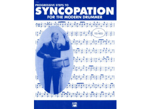 Alfred Music Publishing Progressive Steps to Syncopation for the Modern Drummer by Ted Reed
