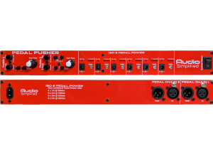 Audio Simplified Pedal Pusher