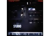 200 patches pour les Korg Minilogue XD