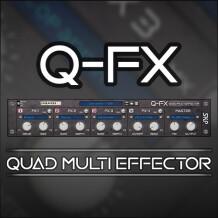 SKP Sound Design Q-FX Quad Multi Effector