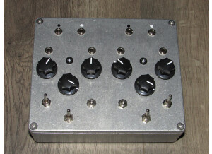ElectroLobotomy Dual Distortion Wave Shaper Filter pedal with CV in's