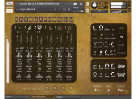 Sound Dust Saxomaphonium, un nouvel hybride pour Kontakt