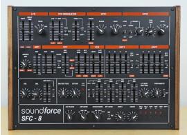 SoundForce dévoile le prototype du contrôleur SFC-8