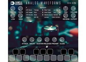Sample Science Analog Waveforms