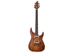 Schecter C-1 Exotic Spalted Maple