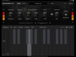AudioKit Pro Bass 808 Synth