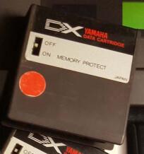 Yamaha DX7 Data RAM
