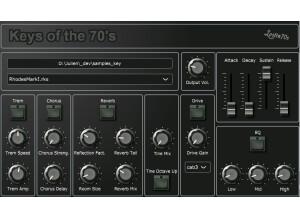 Lostin70's Keys of the 70s