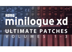 Ultimate Patches Minilogue XD Ultimate Patches Vol. 1-3