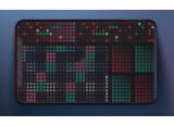 Erae Touch, contrôleur MIDI 2.0 MPE multicolore mais bleu-blanc-rouge
