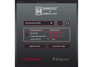 Steinberg Immerse with VST AmbiDecoder