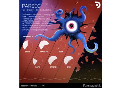 Puremagnetik Parsec fait de la modulation dans l'espace