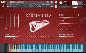 Xperimenta Project Kantele