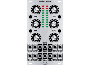 L-1 Synthesizer 2 Channel VC Stereo Mixer