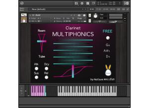 Inouï Samples Clarinet Multiphonics
