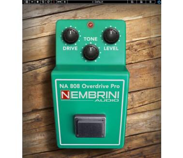 Nembrini Audio NA808 Overdrive Pro