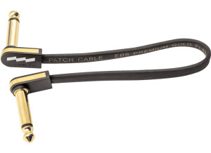 EBS PG-18 Flat Patch Cable Gold