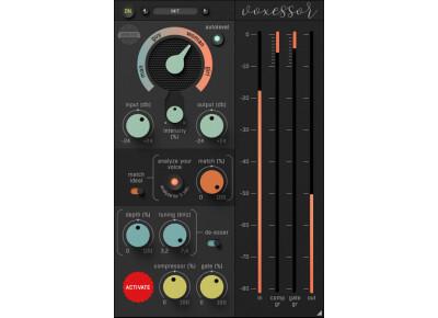 Voxessor, le processeur logiciel de voix de Soundevice Digital
