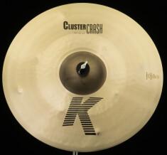 "Zildjian K Cluster Crash 18"""