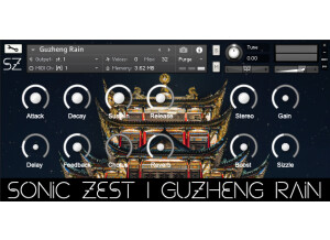 SonicZest Guzheng Rain