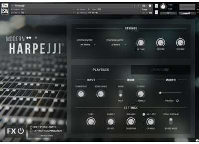 Impact Soundworks a échantillonné un Harpejji pour la Modern Harpejji