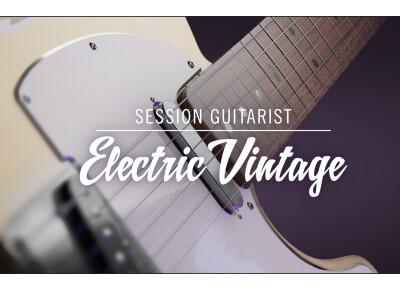 Native Instruments vient d'annoncer Session Guitarist Electric Vintage