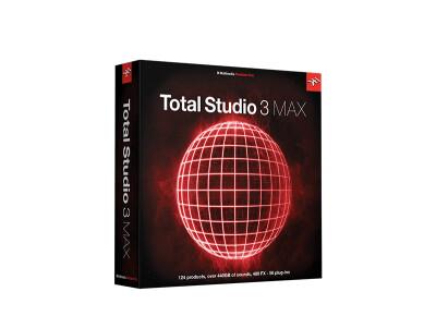 IK Multimedia présente Total Studio 3 MAX et Total Studio 3 SE