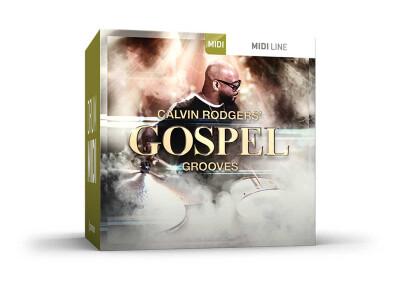 Toontrack sort la banque de fichiers MIDI Gospel Grooves