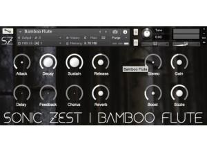 SonicZest Bamboo Flute