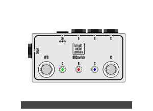Bright Onion Pedals ABC Switch with Three Inputs