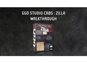 GetGood Drums Studio Cab : Zilla Edition