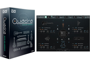 UVI Quadra: Muted and Harmonics