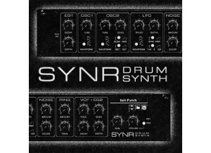 Ekssperimental Sounds Studio SYNR Drum Synthesizer