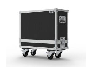 NSP Cases 57 Twin Amp Guitar Combo Flight Case