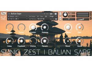 SonicZest Balian Sape