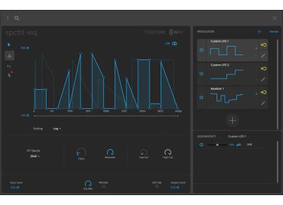 Voici Spctrl EQ, le nouveau filtre créatif logiciel de Tonsturm